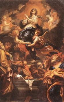 Domenico Piola : Assumption of the Virgin