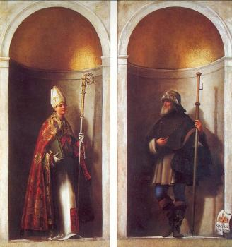 St. Louis of Toulouse and St. Romuald
