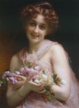 Etienne Adolphe Piot : Flowers