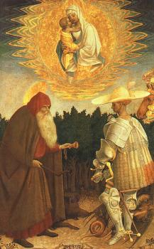 The Virgin and Child with Saints George and Anthony Abbot