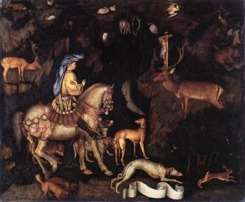 Pisanello : Vision of St Eustace