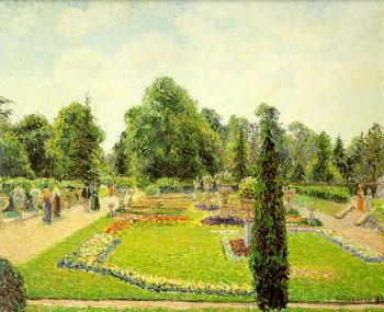 Camille Pissarro : Kew, the Path to the Main Conservatory