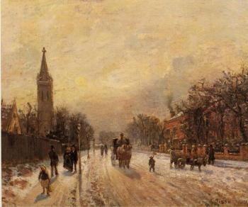 Camille Pissarro : All Saints' Church, Upper Norwood
