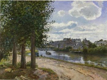 Camille Pissarro : Banks of the Oise