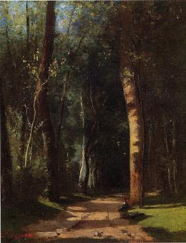 Camille Pissarro : In the Woods