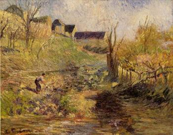 Camille Pissarro : Landscape at Osny