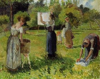 Laundresses at Eragny