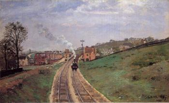Camille Pissarro : Lordship Lane Station, Dulwich