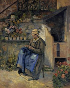 Camille Pissarro : Mother Jolly