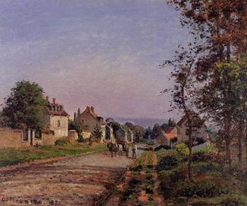 Camille Pissarro : Outskirts of Louveciennes