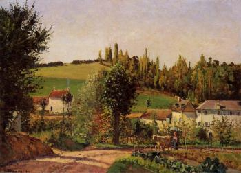Camille Pissarro : Path of l'Hermitage at Pontoise