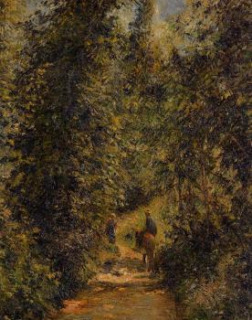 Camille Pissarro : Path under the Trees, Summer