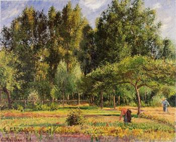 Poplars, Afternoon in Eragny