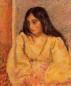 Portrait of Jeanne, the Artist's Daughter II
