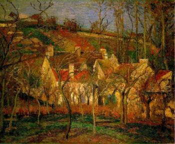 Camille Pissarro : Red Roofs, Corner of a Village