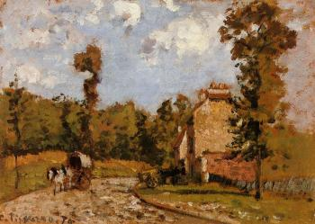 Camille Pissarro : Road in Port-Maryl