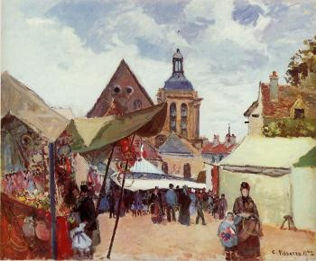 Camille Pissarro : September Celebration, Pontoise