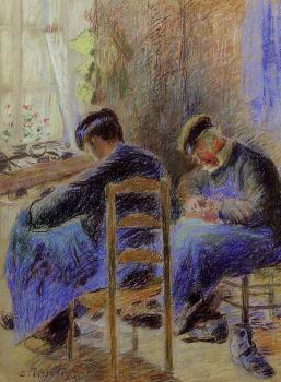 Camille Pissarro : Shoemakers