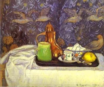 Camille Pissarro : Still Life with a Coffee Pot