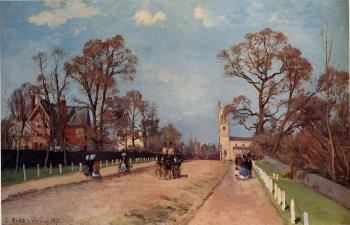 Camille Pissarro : The Avenue, Sydenham