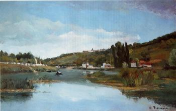 The Banks of the Marne at Chennevieres