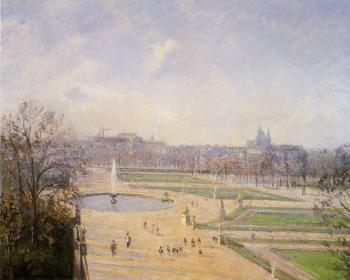 The Bassin des Tuileries, Afternoon, Sun