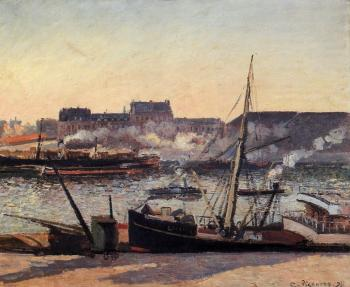 The Docks, Rouen, Afternoon