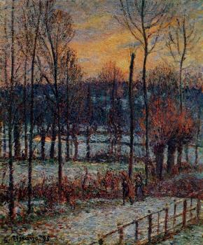The Effect of Snow, Sunset, Eragny