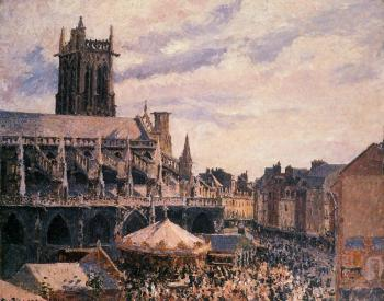 The Fair by the Church of Saint-Jacques, Dieppe