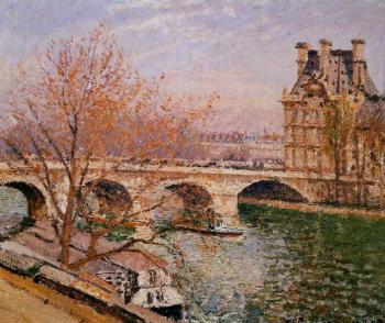 The Pont Royal and the Pavillion de Flore