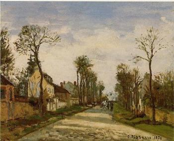 The Road to Versailles at Louveciennes