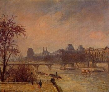 The Seine and the Louvre, Paris