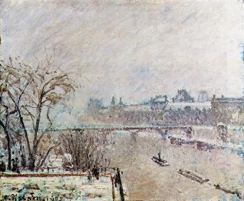 The Seine Viewed from the Pont-Neuf, Winter