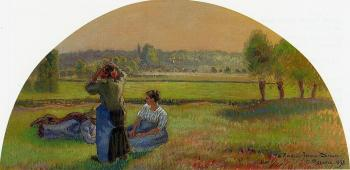 The Siesta in the Fields