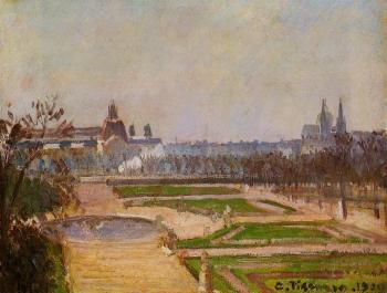 The Tuileries and the Louvre