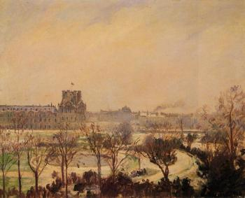 The Tuileries Gardens, Snow Effect