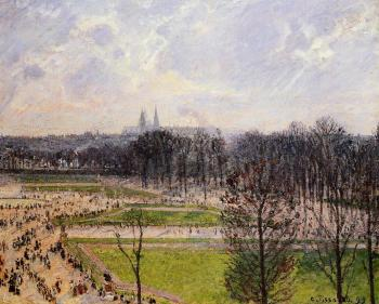 The Tuileries Gardens, Winter Afternoon