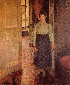 Camille Pissarro : The Young Maid