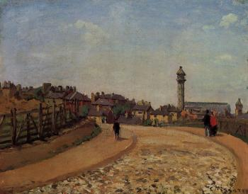 Camille Pissarro : Upper Norwood, Chrystal Palace, London