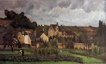 View of l'Hermitage at Pontoise