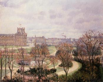 View of the Tuileries, Morning