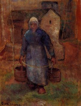 Camille Pissarro : Woman with Buckets