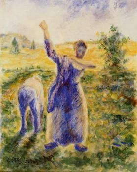 Camille Pissarro : Workers in the Fields