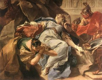 Death of Sophonisba