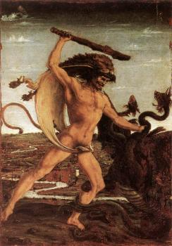 Antonio Del Pollaiolo : Hercules and the Hydra