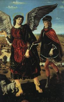 Antonio Del Pollaiolo : Tobias and the Angel