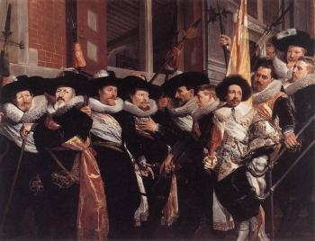 Hendrick Gerritsz Pot : Officers of the Civic Guard of St Adrian