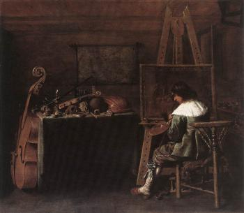 Hendrick Gerritsz Pot : The Painter in his Studio