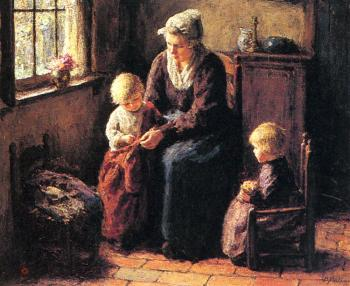 Bernard Pothast : The Sewing Lesson