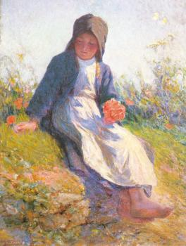 Edward Henry Potthast : Sunshine